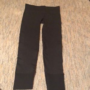 Lululemon charcoal grey full length leggings